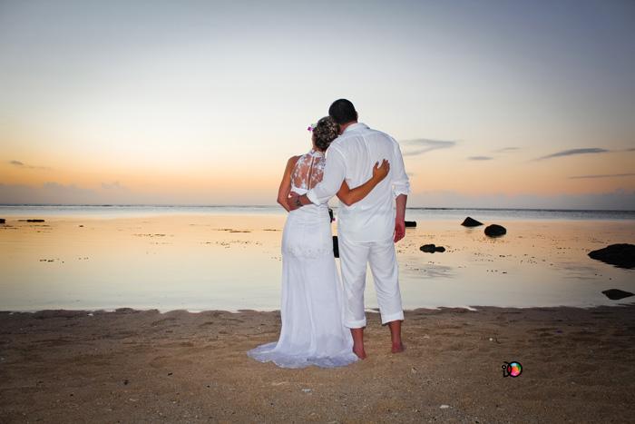 Svatba na Mauriciu