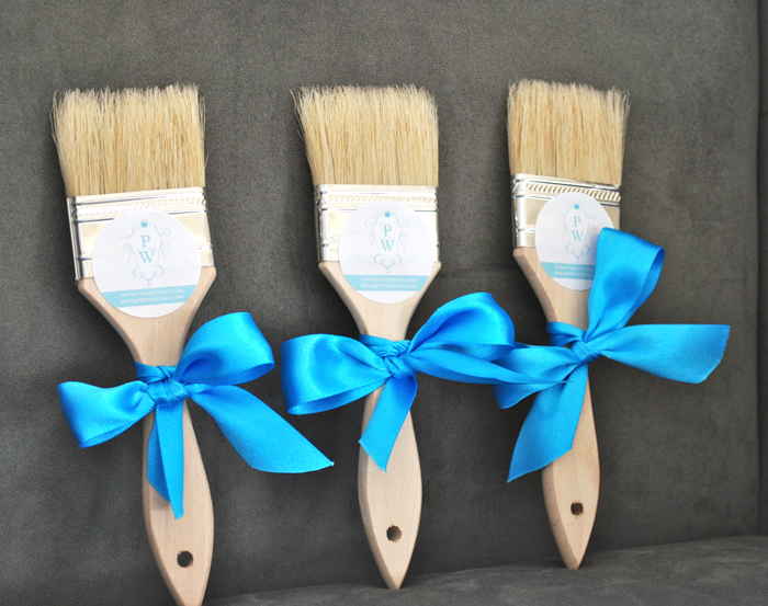 Beach Wedding Sand Brushes