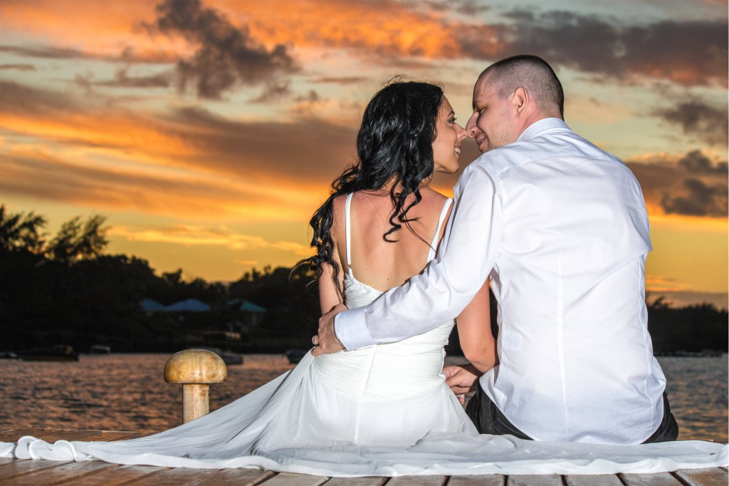 Sunset Mauritius photographer
