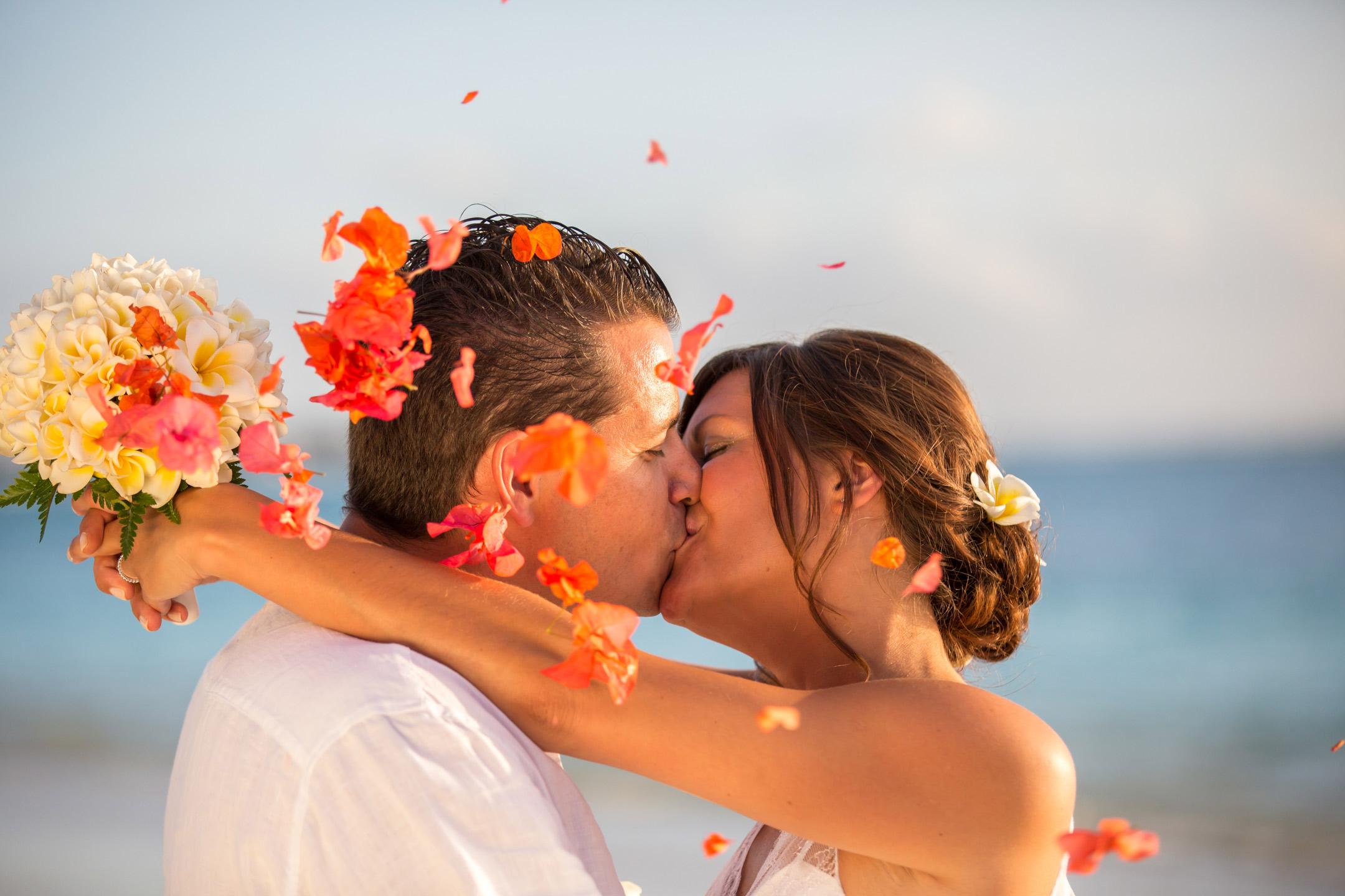Photo de mariage Trou aux biches ile Maurice