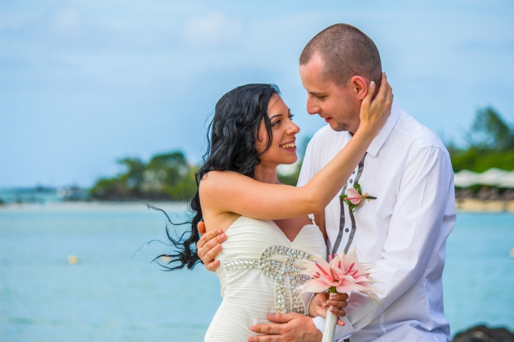 Mauritius wedding photo