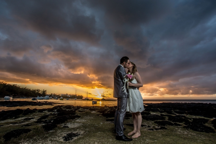 Coin de mire wedding photographer mauritius