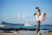 Andy & Alex Michel Tie the Knot in Mauritius