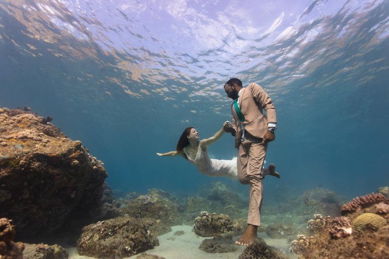 Underwater Wedding Mauritius
